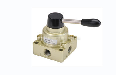 "چین 3 Position 4 Way Pneumatic Manual Directional Control Hand Switching Valve G1/4""~G1/2"" توزیع کننده"